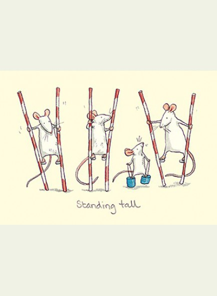 Two Bad Mice Standing Tall kaart